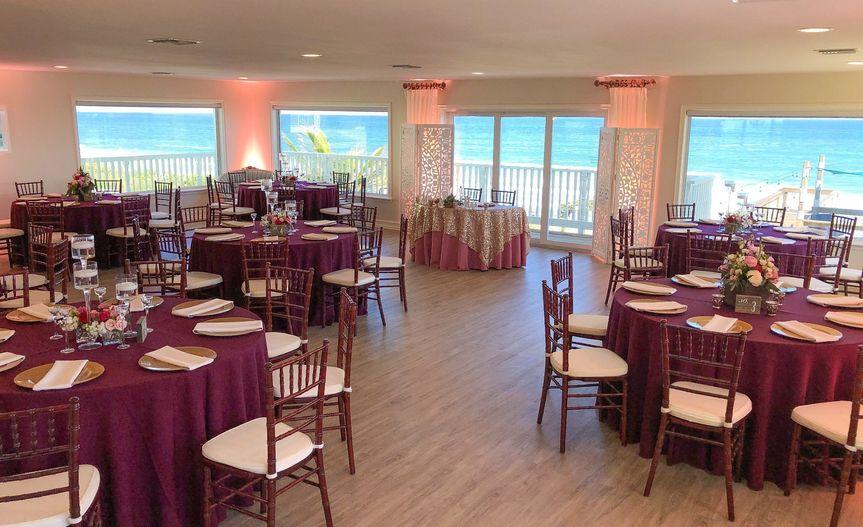 Banquet room dramatic views