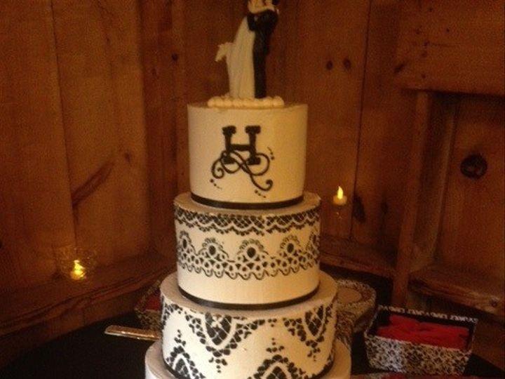 Tmx 1465497372512 Bw Cake Rutland, VT wedding cake