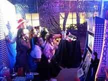 Super Booth PREMIUM party booth with video