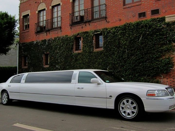 Tmx 1378754385270 White Lincoln Town Car Stretch 8 Pax Los Angeles wedding transportation