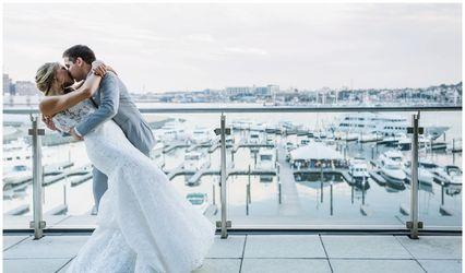 The wedding of Megan and Chris