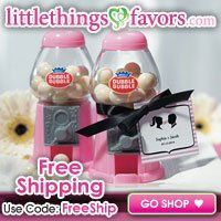 Little Things Wedding Favors