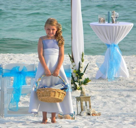 This was shot in Destin, Fl. at a beach wedding ceremony when performed.