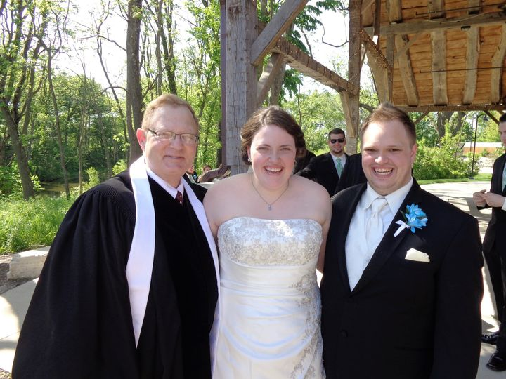 Rev. Mark Hall Wedding Officiant - Officiant - Waterloo/Iowa City ...