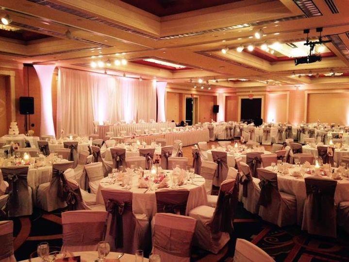 Wedding reception - chattahoochee salon