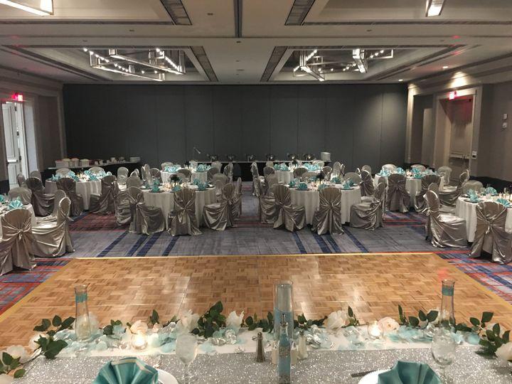 Wedding reception - chattahoochee ab salon