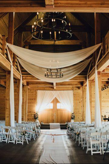 Barn ceremony option