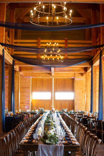 Dinner in the Barn