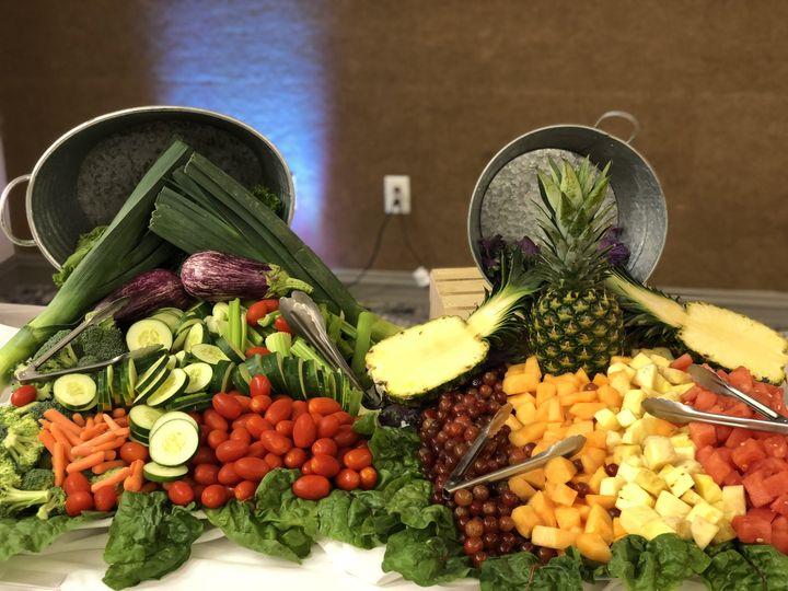Fruit & Veggie Display