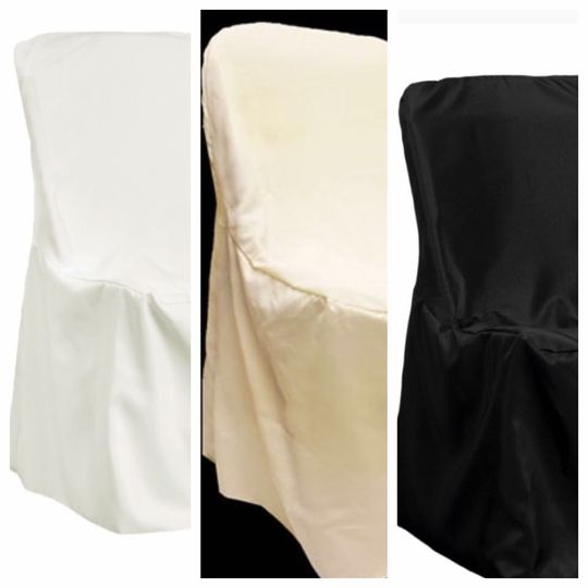 Chair covers available in 3 colors