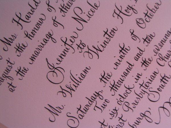 Tmx 1291085642691 Calligraphy003 Pawleys Island, SC wedding invitation