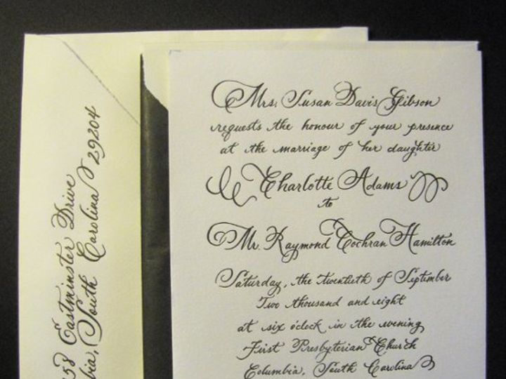 Tmx 1291085791488 05757 Pawleys Island, SC wedding invitation