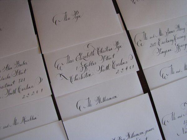 Tmx 1291089465613 Calligraphy005 Pawleys Island, SC wedding invitation