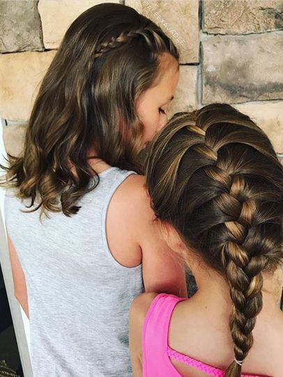For the flower girls' hair