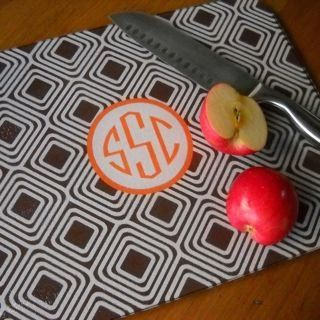 Monogrammed Custom Cutting Board