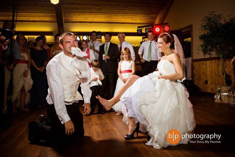 Garter dance