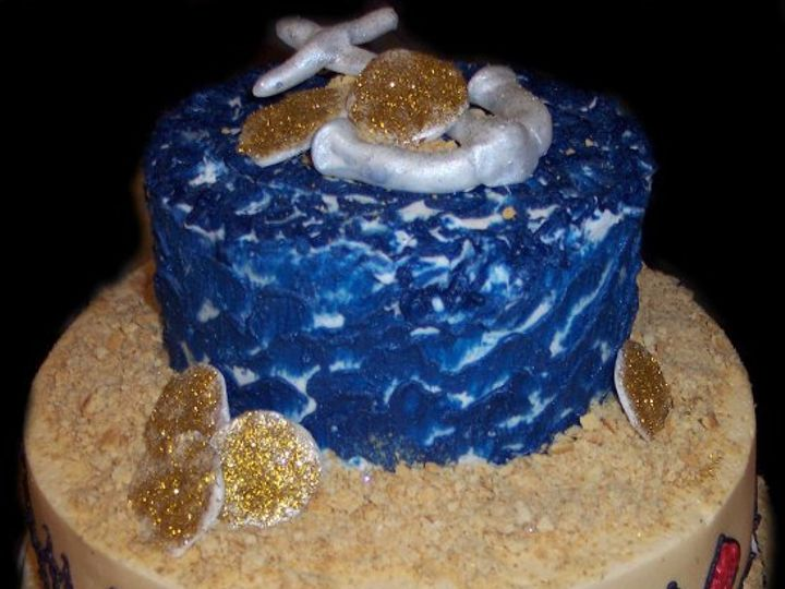 Tmx 1296083192724 FinnsPiratecake Saint Augustine wedding cake