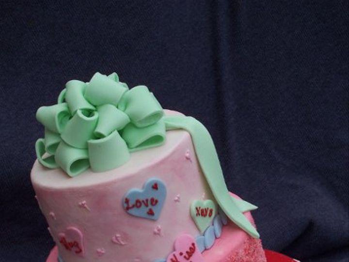 Tmx 1296083233537 Valentine Saint Augustine wedding cake