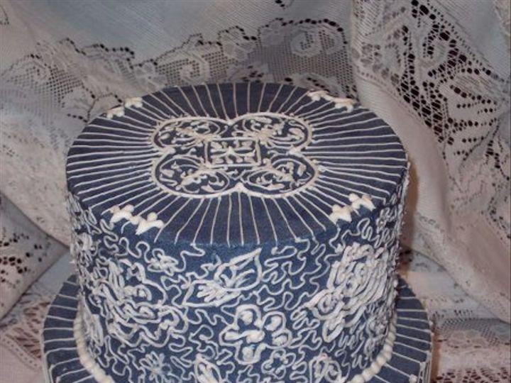 Tmx 1296083240428 WedgewoodAnniversary Saint Augustine wedding cake