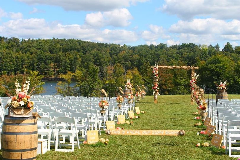 rough river dam state resort park wedding ceremony