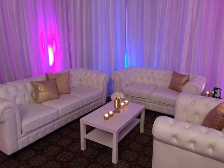 White couches