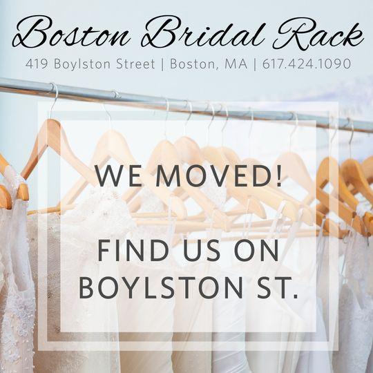 boston bridal rack social new location boylston