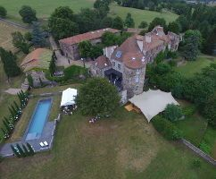 Weddings castle in Auvergne