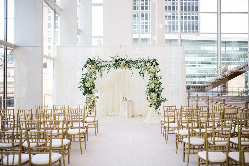 Promenade lobby ceremony
