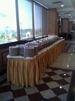 Utilize our foyer any way you like! We do provide catering and catering services