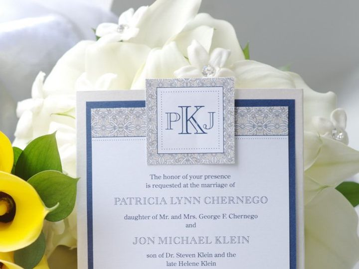 Tmx 1359642740711 0004 Kendall Park wedding invitation