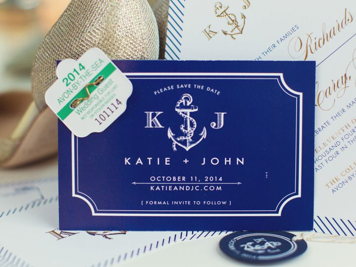 Tmx 1459903135805 Katiejohnwed1647 Kendall Park wedding invitation