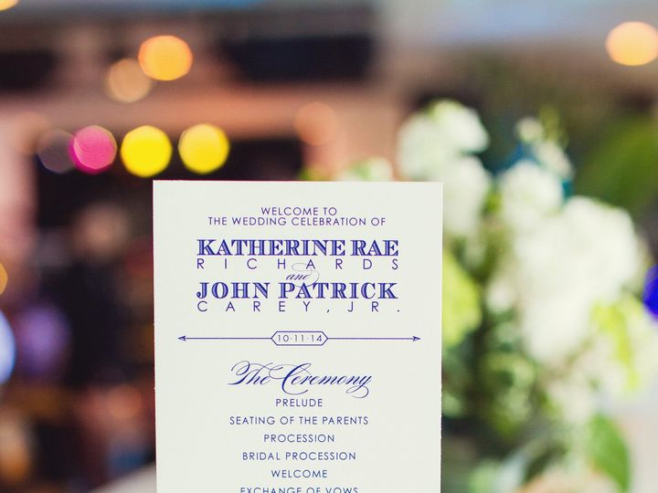 Tmx 1459903237316 Katiejohnwed1984 Kendall Park wedding invitation