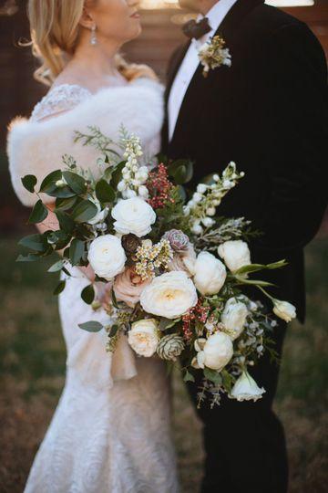 Christina Logan Design, bridal bouquet