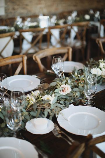 Christina Logan Design - wedding plate