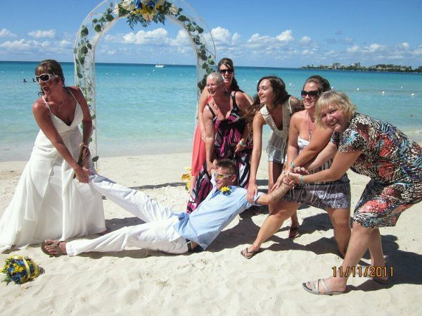 11/11/11 - Destination Wedding in Negril Jamaica