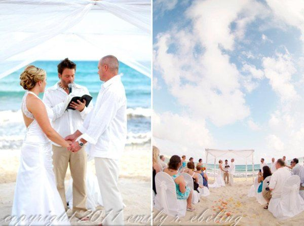 Nov 2011 - Destination Wedding in Riviera Maya