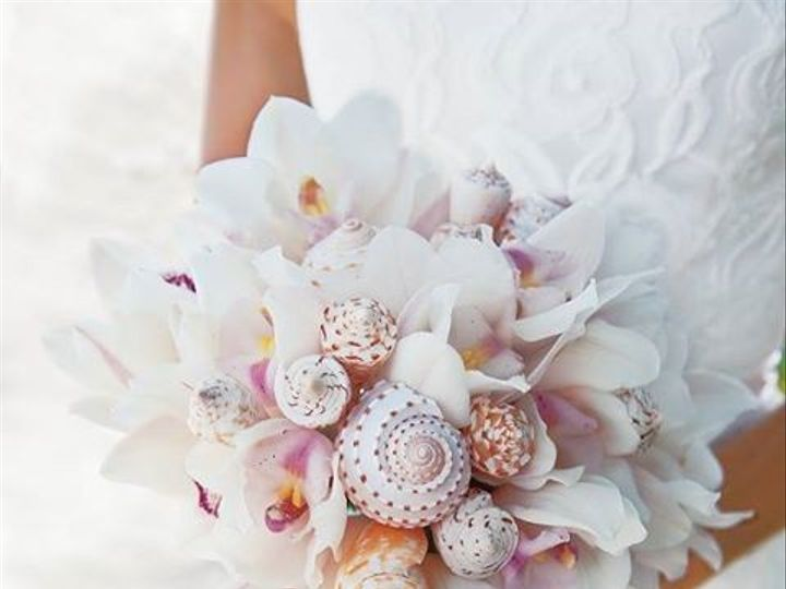 Tmx 1398955579583 Sea Shell Bouque Menasha wedding travel