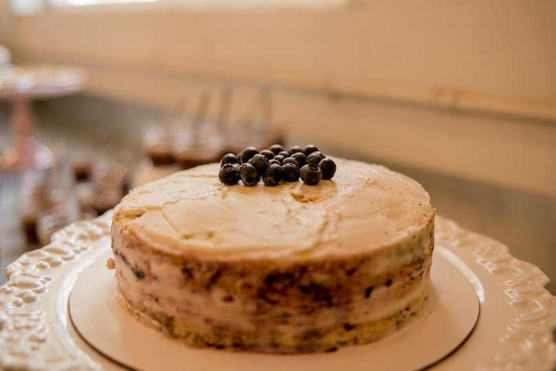 Blueberry buttermilk cake | Photo credit: Jeff and Rebecca Photography