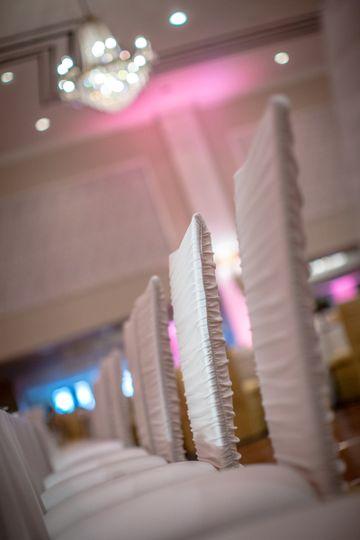 sheraton gunter chandelier wedding