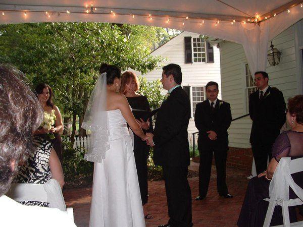 Garage wedding