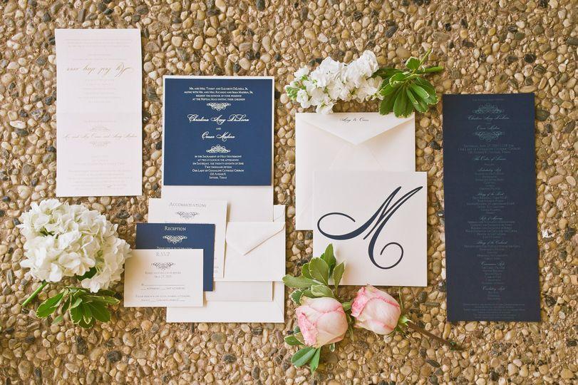 Little White Invite Invitations Lubbock Tx Weddingwire