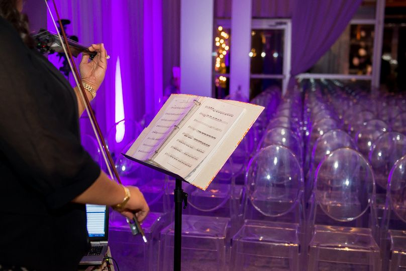 Ceremony music at The Joule