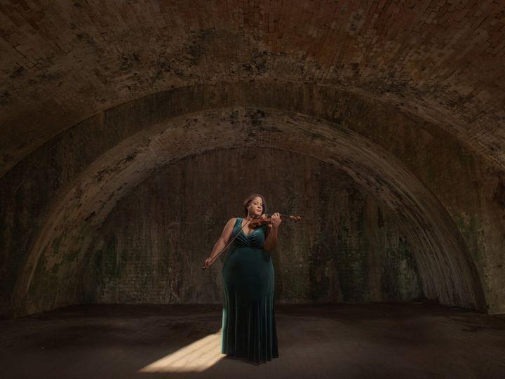 Tmx Dallas Violinist Green Dress Cave 51 683842 160832007042729 Allen, TX wedding ceremonymusic