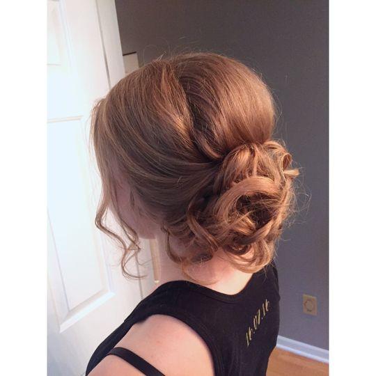 Flora Makeup and Hair