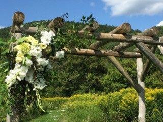 Arch floral decor