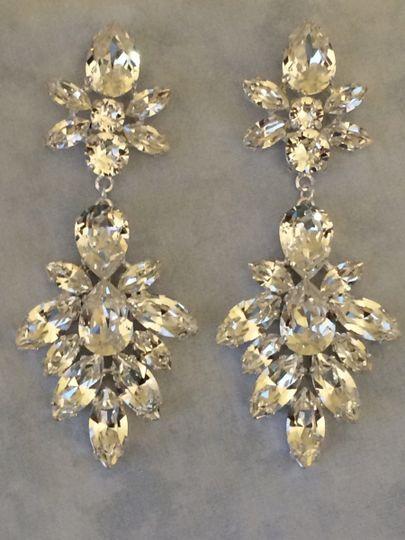 Swarovski Crystal Bridal Statement Nevklace