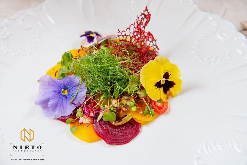 Tomato & Beet Salad