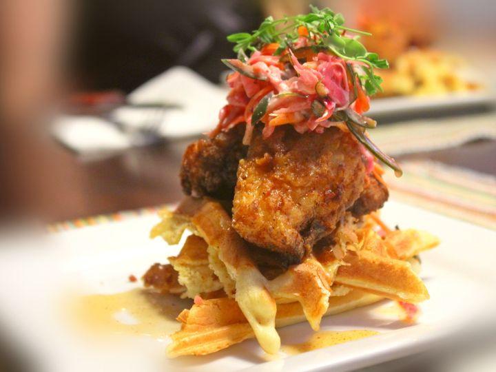 Tmx 1503623439299 Chicken  Waffles Raleigh, NC wedding catering