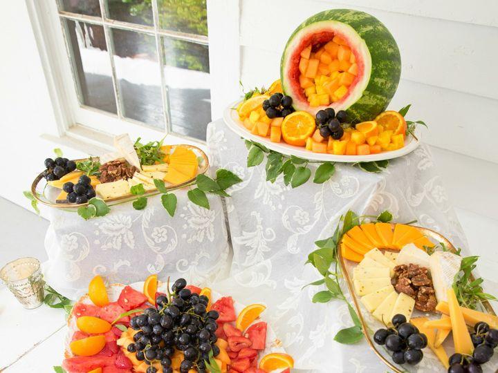 Tmx 1504295881436 Fruit  Cheese Platter Raleigh, NC wedding catering