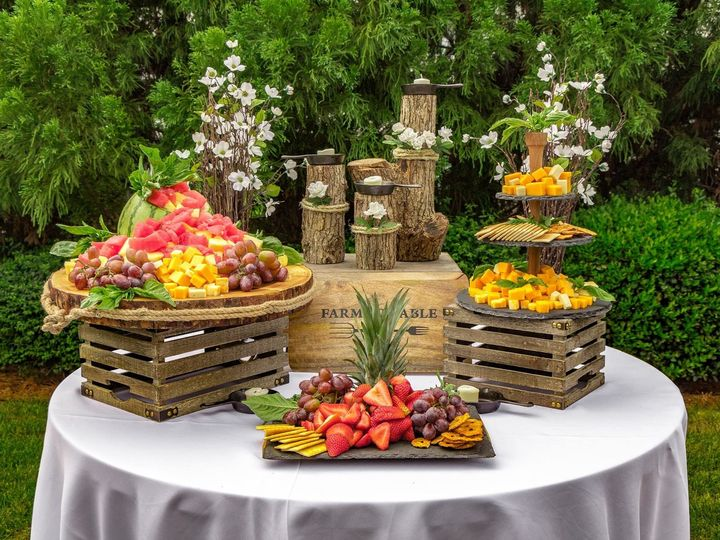 Tmx 1507141698115 Fruit And Cheese Raleigh, NC wedding catering